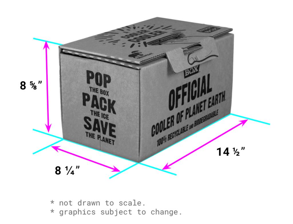 cooler dimensions