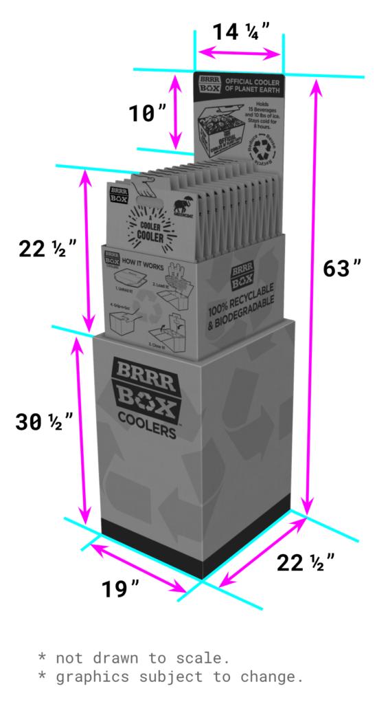 display dimensions